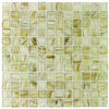 Elida Ceramica 12-in x 12-in Glass Mosaic Wild Pine Glass Wall Tile