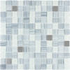 Style Selections Celestial Glass Mosaic Square Wall Tile (Common: 12-in x 12-in; Actual: 11.75-in x 11.75-in)