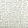 Elida Ceramica 12-1/2-in x 12-1/2-in Glass Mosaic Mistic Pearl Glass Wall Tile