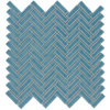 Elida Ceramica Chelsea Sea Scale Mosaic Ceramic Wall Tile (Common: 12-in x 12-in; Actual: 11-in x 11-in)