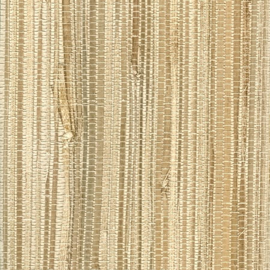 Shop Astek Grasscloth Strippable Paper Glue Wallpaper At