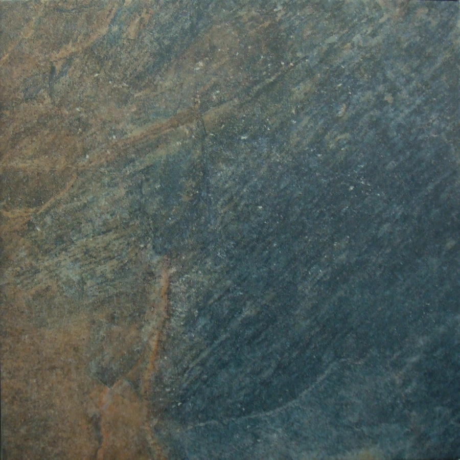 Shop style selections 18 in x 18 in castle stone harvest glazed porcelain floor tile at Ceramic stone tile