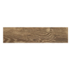 Style Selections Natural Timber Cinnamon Porcelain Floor Tile (Common: 6-in x 24-in; Actual: 5.79-in x 23.7-in)