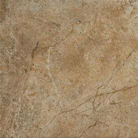 Style Selections Florentine Scabos Glazed Porcelain Indoor/Outdoor Floor Tile (Common: 12-in x 12-in; Actual: 11.85-in x 11.85-in)