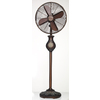 DECO BREEZE 16-in 3-Speed Oscillation Stand Fan