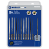 Kobalt 12-Piece SpeedFit Micro File Set
