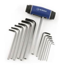 Kobalt 14-Piece Flat End Hex Key Set