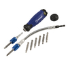 Kobalt 2-in x 7-in 11-Piece Multi-Bit Flexible Screwdriver