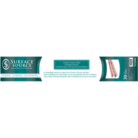 Surface Source 7/8-in W x 48-in L Carpet Tack Strip