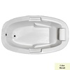 Laurel Mountain York 72-in L x 42-in W x 23-in H Acrylic 1-Person-Person Oval Drop-in Air Bath