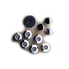 Laurel Mountain Chrome Whirlpool Injector Trim Rings