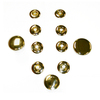 Laurel Mountain Polished Brass Back Massage Jets