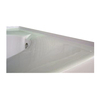 Laurel Mountain Integral Acrylic Tile Flange Right Hand Drain