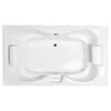 Laurel Mountain Seneca Ii Deluxe 2-Person Acrylic Hourglass In Rectangle Whirlpool Tub (Common: 42-in x 72-in; Actual: 23-in x 41.75-in x 71.75-in)