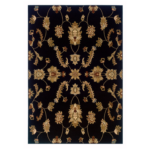 """Buy KAS Ruby Ivory Floral Border Area Rug - 2' 6"""" x 4' 2"""""""