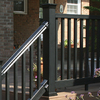 Fiberon Black Composite Deck Post Sleeve (Common: 4 x 4; Actual: 4.1-in x 4.1-in)
