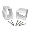 Fiberon Homeselect White PVC Stair Connector