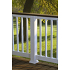 Fiberon HomeSelect 2-Pack White Composite Deck Handrails (Common: x 6-ft; Actual: 3.5-in x 4-in x 6-ft)