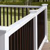 Fiberon HomeSelect 2-Pack White Composite Deck Handrails (Common: x 8-ft; Actual: 3.5-in x 4-in x 8-ft)