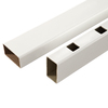 Fiberon 3-1/2-in x 4-in x 8-ft White Composite Deck Railing