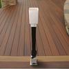 Fiberon HomeSelect Black Painted Galvanized Steel Column Adapter