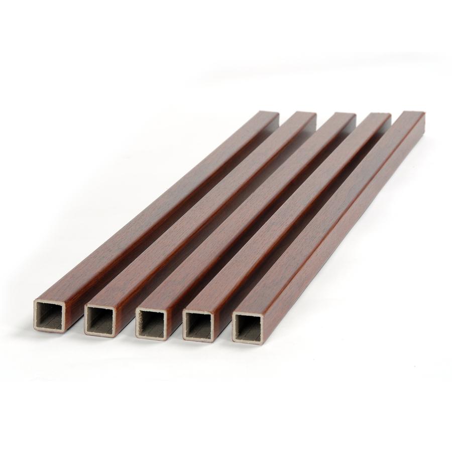 Shop fiberon 5 pack mahogany composite deck baluster for Fiberon ipe decking prices