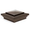 Fiberon HomeSelect Vintage Copper Composite Deck Post Cap (Fits Common Post Measurement: 4-in x 4-in; Actual: 5.75-in x 5.75-in x 5.75-in)