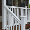Fiberon HomeSelect 2-Pack White Composite Deck Handrails (Common: x 6-ft; Actual: 4-in x 6-in x 6-ft)