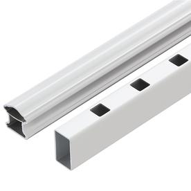 Fiberon White Composite Deck Railing (Common: 4-in x 6-in x 8-ft; Actual: 4-in x 6-in x 8.041-ft)