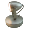 Style Selections 5.71-in Brushed Nickel LED Desk Lamp with Metal Shade