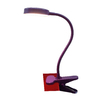 Style Selections 11-in Adjustable Purple LED Clip-On Desk Lamp with Metal Shade