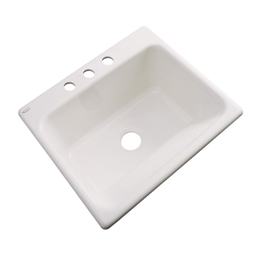 Acrylic Sink : Shop Dekor Natural Drop-In Acrylic Laundry Sink at Lowes.com