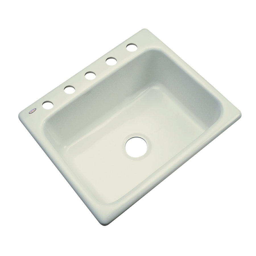Acrylic Sink : ... Dekor Master Single-Basin Drop-in Acrylic Kitchen Sink at Lowes.com