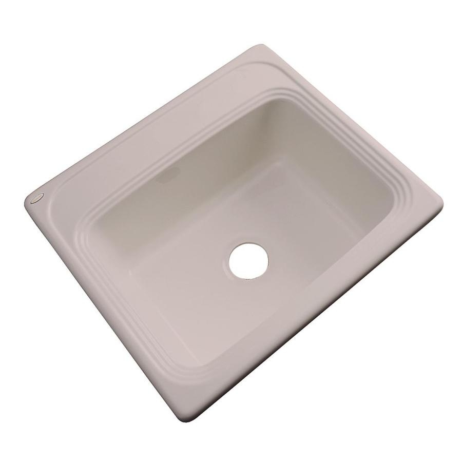 shop dekor master single basin drop in acrylic kitchen