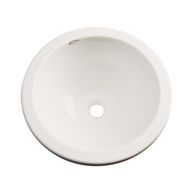 Dekor Perris Almond Composite Undermount Round Bathroom