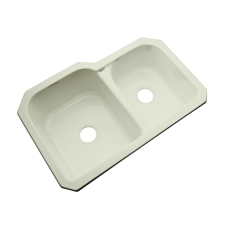 ... Dekor Master Double-Basin Undermount Acrylic Kitchen Sink at Lowes.com