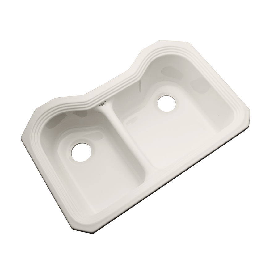 Acrylic Sink : ... Dekor Master Double-Basin Undermount Acrylic Kitchen Sink at Lowes.com