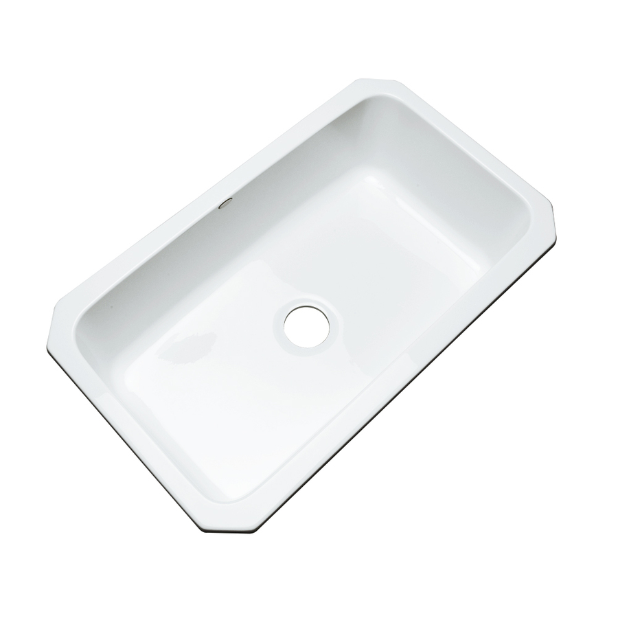 Acrylic Sink : ... out zoom in dekor master single basin undermount acrylic kitchen sink