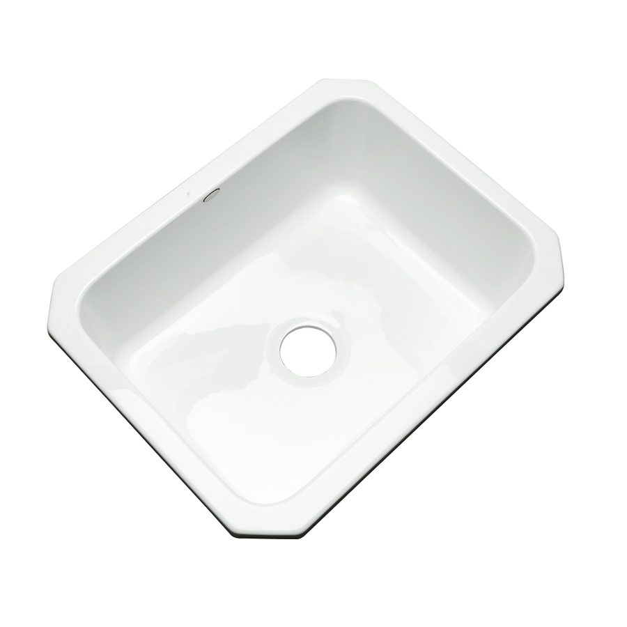 Acrylic Sink : ... Dekor Master Single-Basin Undermount Acrylic Kitchen Sink at Lowes.com