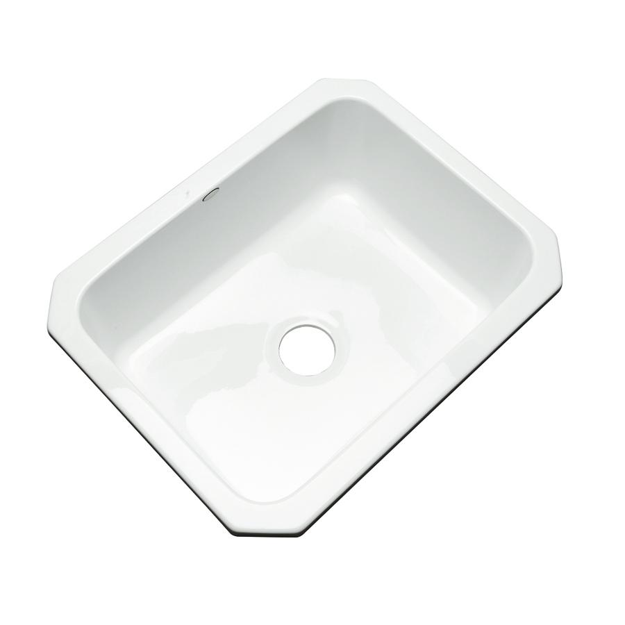 Acrylic Kitchen Sinks : ... Dekor Master Single-Basin Undermount Acrylic Kitchen Sink at Lowes.com