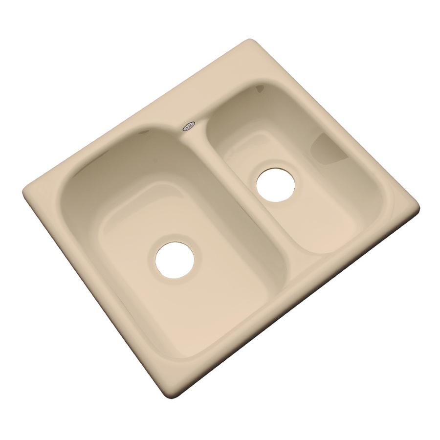 Acrylic Kitchen Sinks : ... Dekor Master Double-Basin Undermount Acrylic Kitchen Sink at Lowes.com