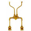 Sign of the Crab 24-in Braided Rough Brass Faucet Supply Line