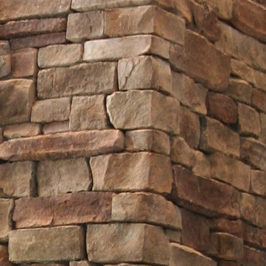 Shop stonecraft 7 linear ft bucktown ledgestone corners for Stonecraft fireplaces
