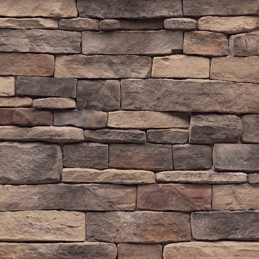 Shop stonecraft 9 sq ft tennessee ledgestone flats at for Stonecraft fireplaces