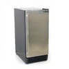 Maxx Ice 3-cu ft Freezerless Refrigerator (Stainless Steel)