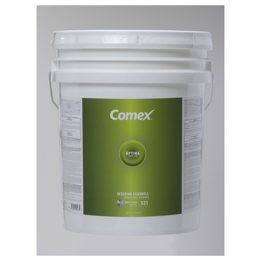 shop comex 5 gallon size container interior eggshell. Black Bedroom Furniture Sets. Home Design Ideas