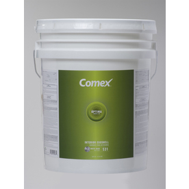 Comex White (White Base) Eggshell Latex Interior Paint (Actual Net Contents: 620-fl oz)