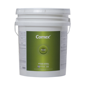 Comex 5 Gallon Size Container Interior Eggshell Tintable White (Medium Base) Latex-Base Paint (Actual Net Contents: 620-fl oz)