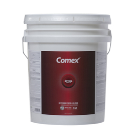 Comex 620 fl oz Interior Semi-Gloss White Paint