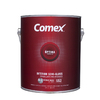 Comex White (Medium Base) Semi-Gloss Latex Interior Paint (Actual Net Contents: 124-fl oz)